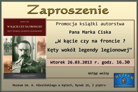 Promocja nowego wydawnictwa muzeum
